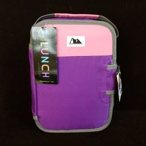 Arctic zone insulated lunch zipperless lid